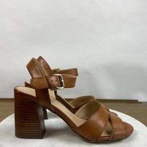Unisa Brown Leather Sandals